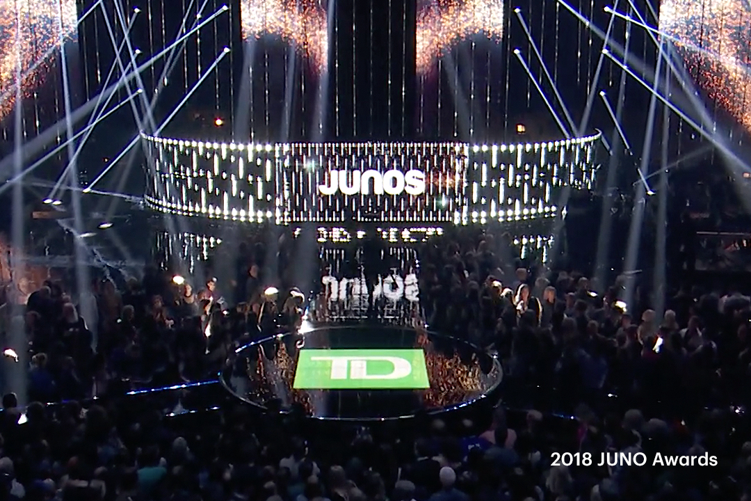 Celebrating 10 years supporting the JUNO Awards